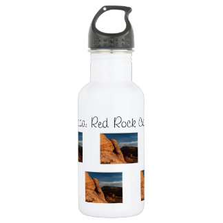 Formations in Red Rock; Nevada Souvenir 18oz Water Bottle