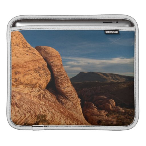 Formations in Red Rock; No Text iPad Sleeve