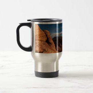 Formations in Red Rock; No Text 15 Oz Stainless Steel Travel Mug