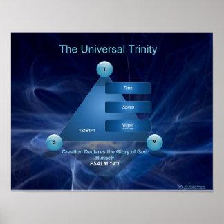 Formato grande de la trinidad universal posters