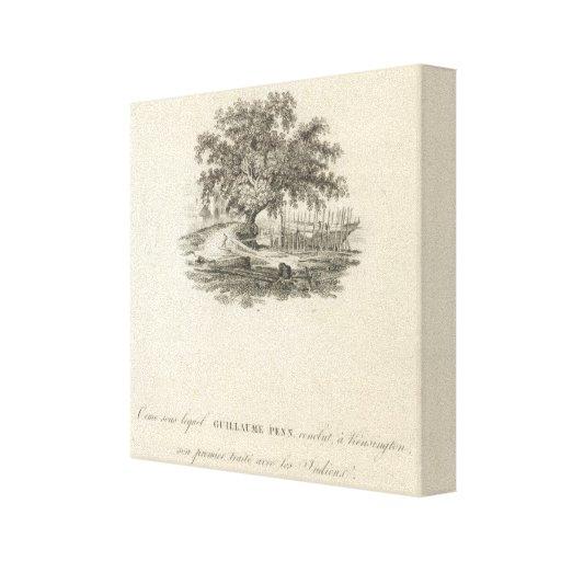 Forme en qué William Penn Impresión En Lona