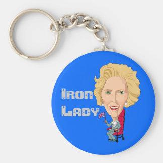 Former British Prime Minister Iron Lady THATCHER Keychains