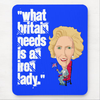 Former British Prime Minister Iron Lady THATCHER Mouse Pad