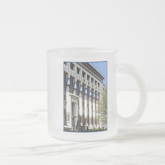 former Carreras Factory, London Frosted Glass Coffee Mug