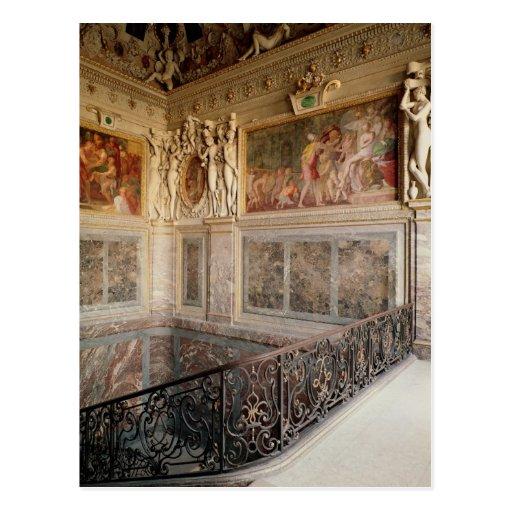 Former chamber of Anne de Pisseleu Post Card