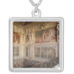 Former chamber of Anne de Pisseleu Square Pendant Necklace