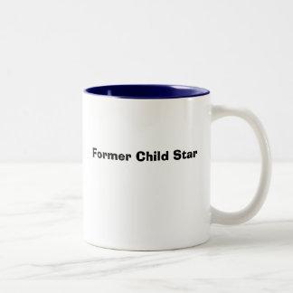 Former Child Star Two-Tone Coffee Mug