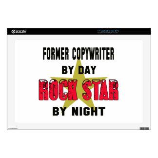 "Former copywriter by Day rockstar by night 17"" Laptop Skins"