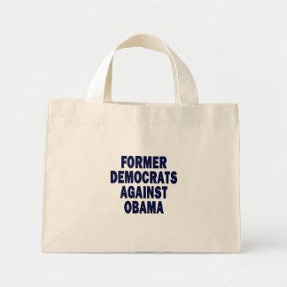 Former Democrats against Obama Tote Bag