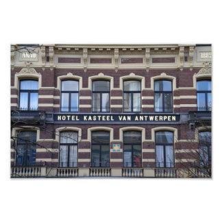 Former hotel in Utrecht Photo Print