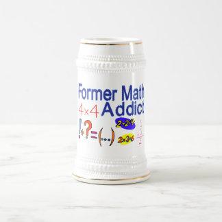 Former Math Addict Beer Stein