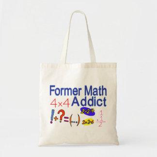 Former Math Addict Tote Bag