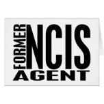 Former NCIS Agent Cards