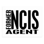 Former NCIS Agent Post Card