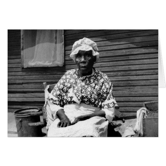 Former Slave Portrait, 1930s Card