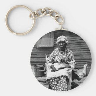 Former Slave Portrait, 1930s Key Chains