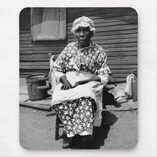 Former Slave Portrait, 1930s Mouse Pad