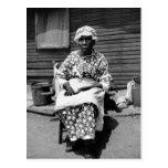 Former Slave Portrait, 1930s Postcard