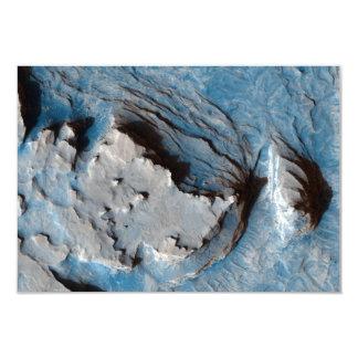 Former Streambed in Mars' Terra Meridiani Ridge 3.5x5 Paper Invitation Card