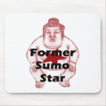 Former Sumo Star Mouse Pads