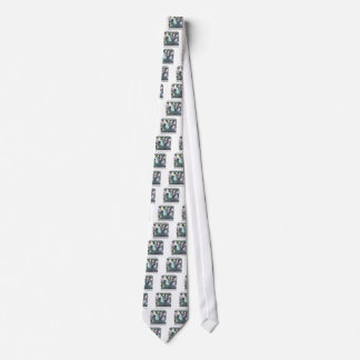 Forming A Support Group Funny Neck Tie
