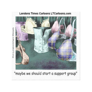 Forming A Support Group Funny Rick London Print
