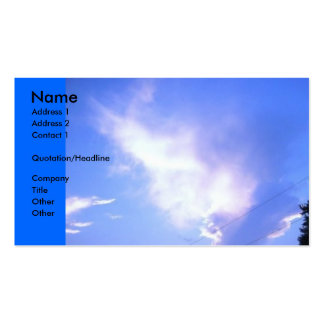 Forming Clouds Business Card