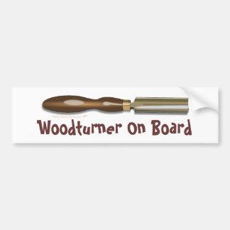 Formón Roughing Woodturner a bordo pegatina para e Pegatina Para Auto