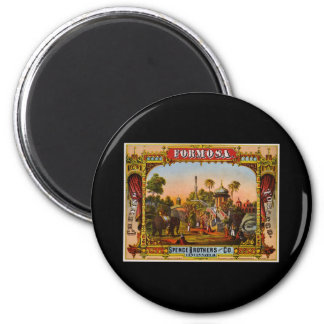 Formosa chewing tobacco magnet