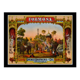 Formosa chewing tobacco post cards