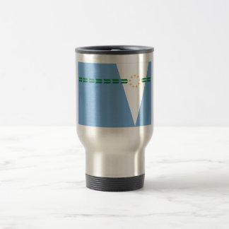 Formosa flag 15 oz stainless steel travel mug