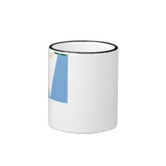 Formosa flag ringer coffee mug