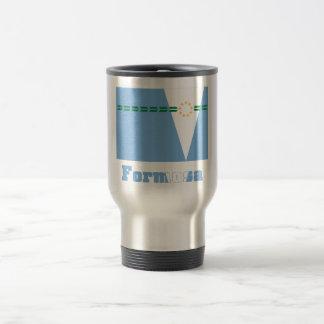Formosa flag with name 15 oz stainless steel travel mug
