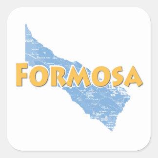 Formosa Square Sticker