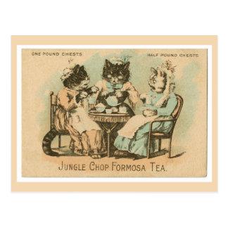 Formosa Tea Cats Post Cards