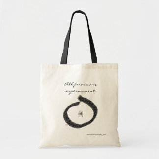 Forms Impermanence Tote Budget Tote Bag