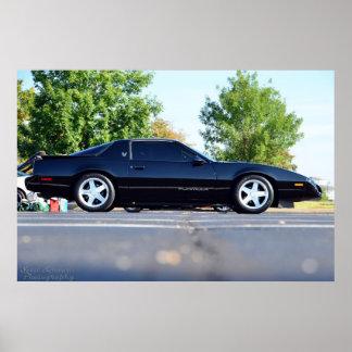 Fórmula 1991 de Pontiac Firebird Póster