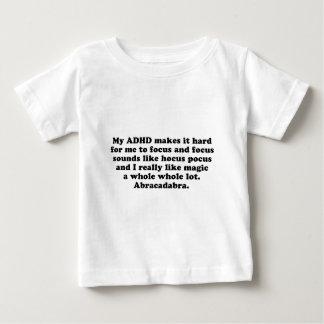 Fórmula de prestidigitador del foco de ADHD Tshirt