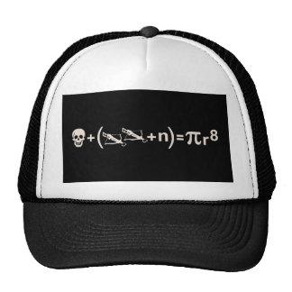 Fórmula del pirata gorro de camionero
