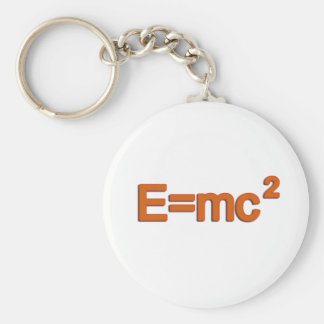Formula E=mc2 Keychain