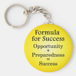 Formula for Success Keychain