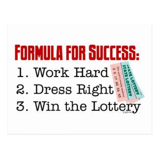 FORMULA FOR SUCCESS POSTCARD