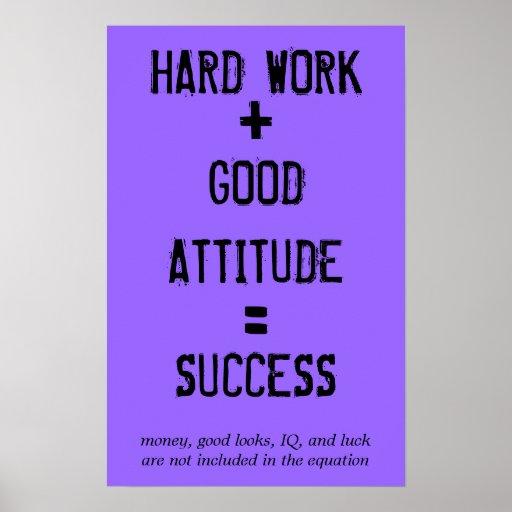 Formula for Success Poster