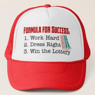 FORMULA FOR SUCCESS TRUCKER HAT