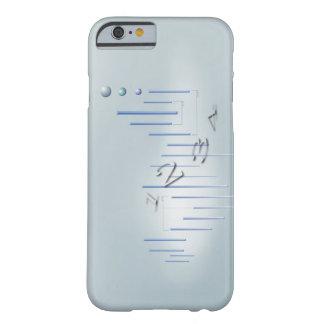 Fórmula, gráfico, símbolos 11 de la matemáticas funda de iPhone 6 barely there