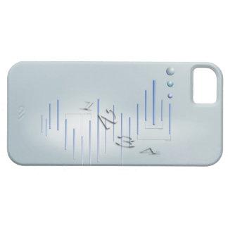 Fórmula, gráfico, símbolos 11 de la matemáticas iPhone 5 carcasas