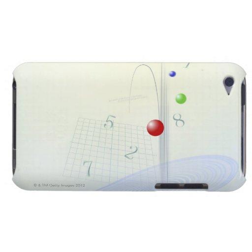 Formula, graph, math symbols 10 iPod Case-Mate cases