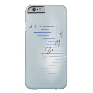 Formula, graph, math symbols 11 barely there iPhone 6 case