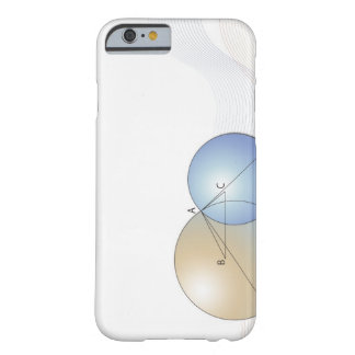 Formula, graph, math symbols 7 barely there iPhone 6 case