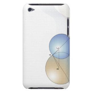 Formula, graph, math symbols 7 barely there iPod case